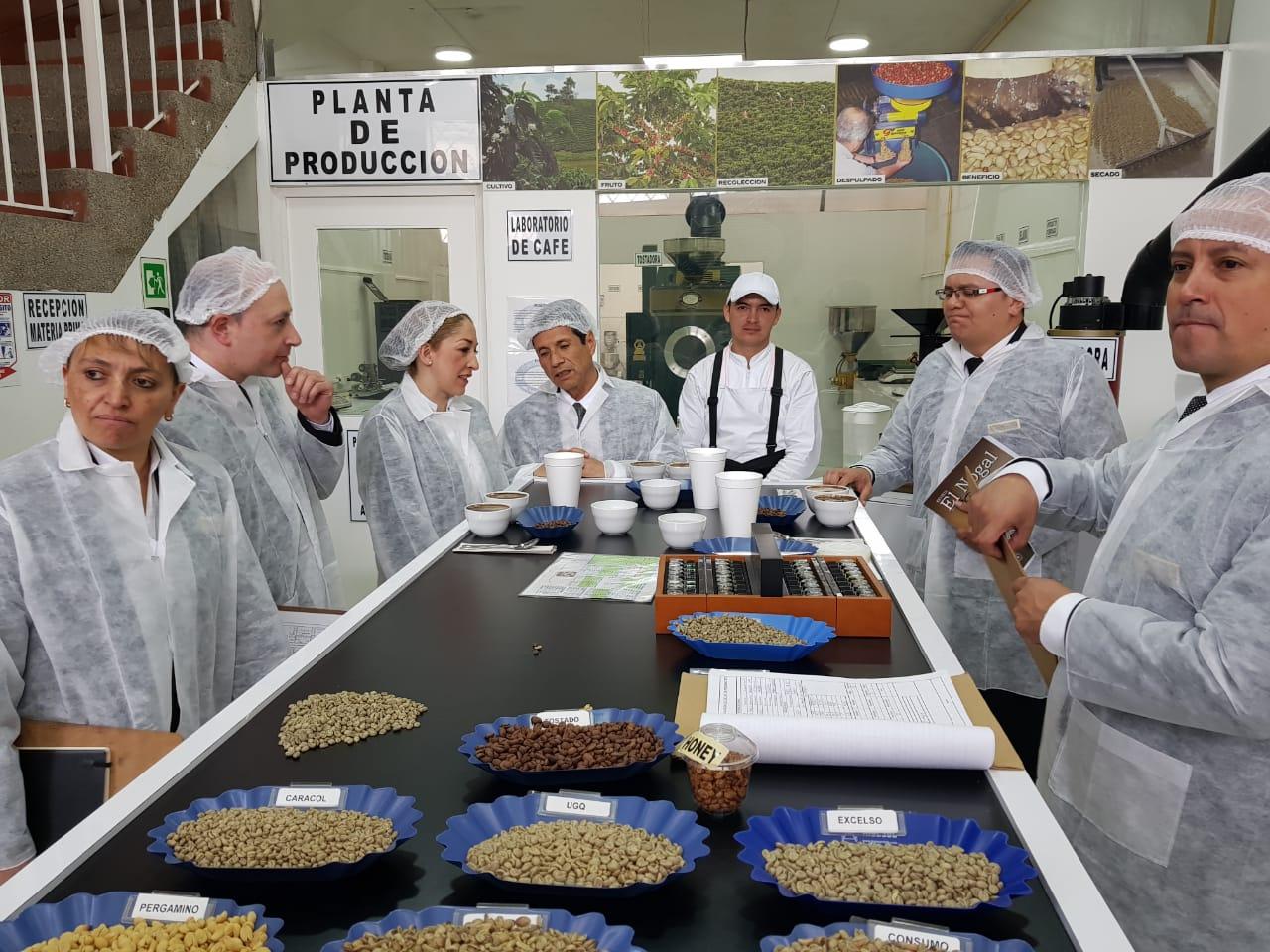 Planta de producción Café don Pedro