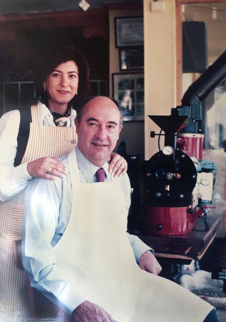Pedro de Naravez y su esposa