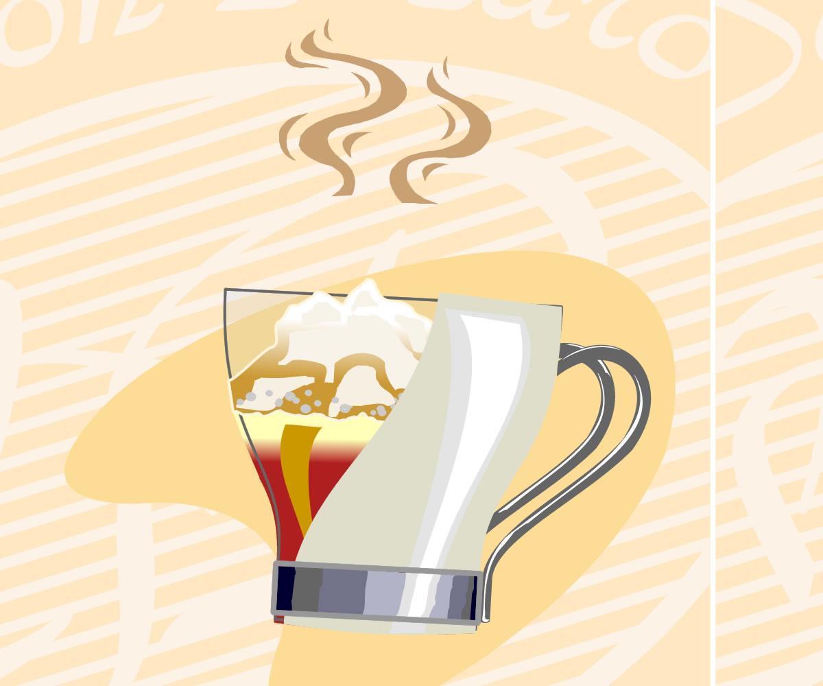 espresso con panna cafe don pedro